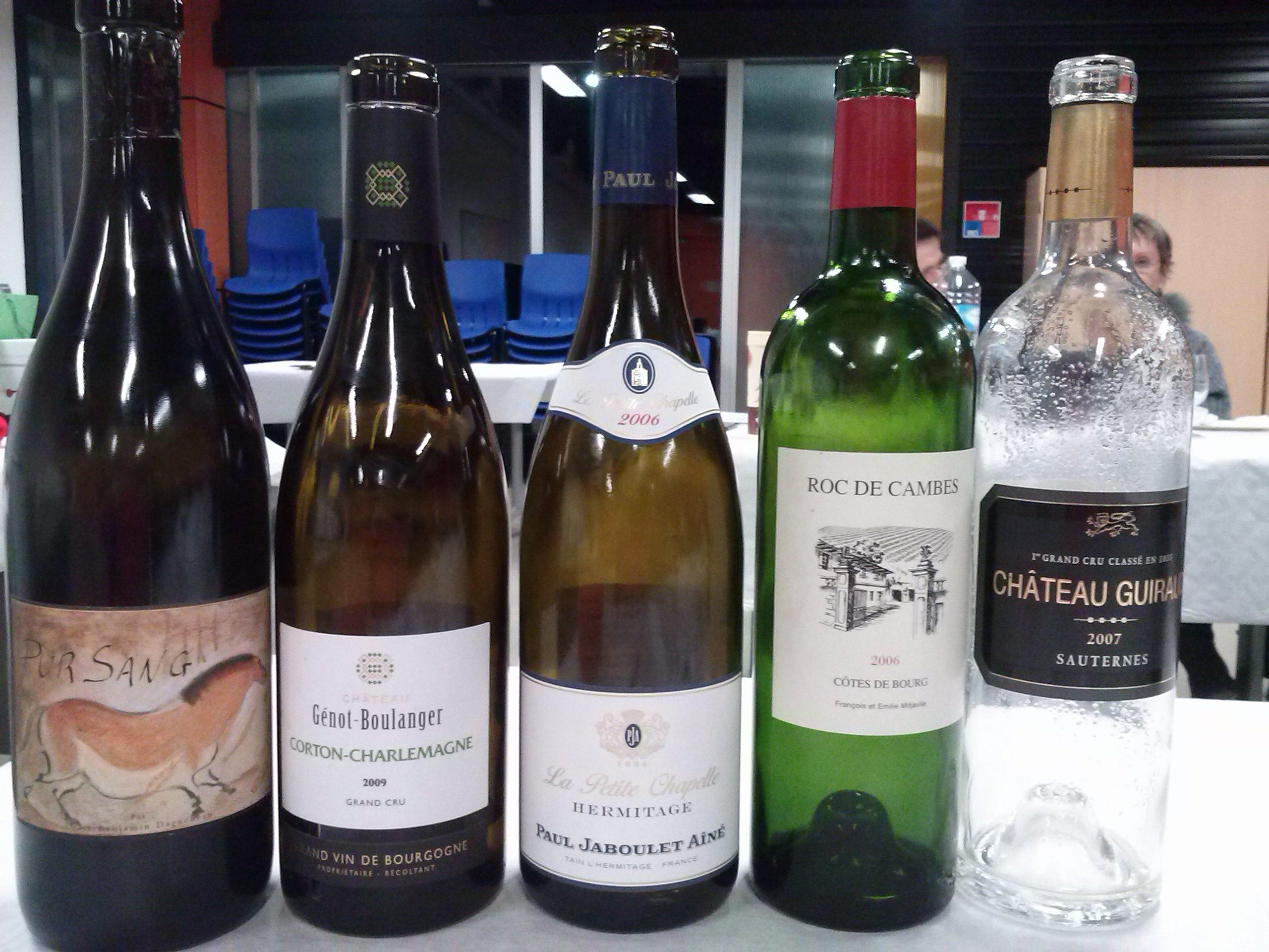 Grands vins 2014
