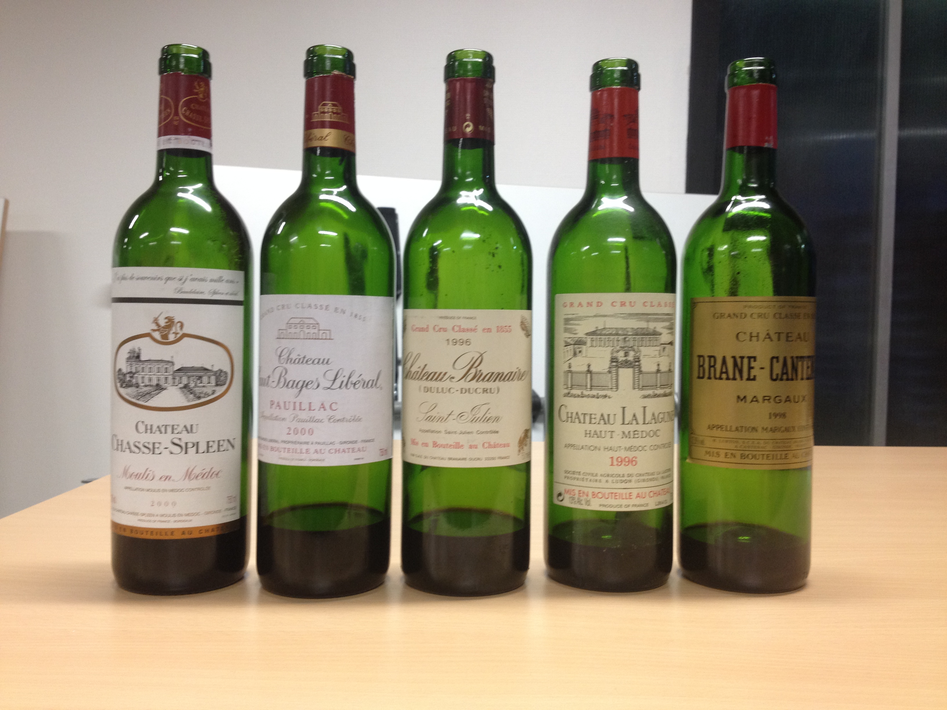 Grands vins Médoc